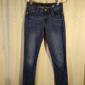 Banana Republic Medium Wash Mid Rise Skinny Jeans